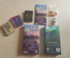Paradise fallen card game by andrew wright crash games complete
