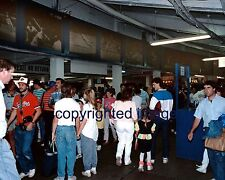 Old Comiskey Park 1990 Behind home plate with 1970's Murals Color 8x10 WW