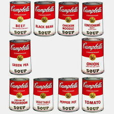 Campbell's Soup-Series I Suite (Sunday B. Morning), 10 Silkscreens, Andy Warhol