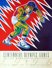Atlanta 1996 Olympics SHOT PUT (Athletics) Official Original Event POSTER