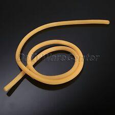 1m Sling Shot Rubber Band Natural Latex Rubber Tube Yellow Catapult Slingshot