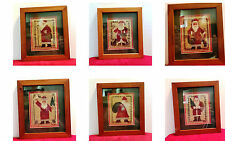 Vintage Prairie Schooler Counted Cross Stitch Yearly Santa's 1985-1988