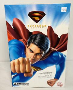 """DC Direct 13"""" Superman Returns Figure Brandon Routh Justice League"""