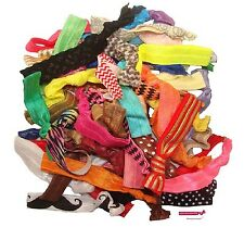 100 Hair Ties USASHIP Pre Pack elastic band ponytail holders VALUE wholesale lot