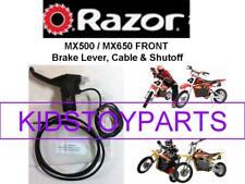 RAZOR SCOOTER DIRT ROCKET BIKE MX500 SX500 MX650 FRONT BRAKE CABLE W/ SHUTOFF