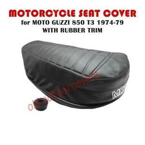 MOTORCYCLE SEAT COVER MOTO GUZZI 850 T3 1974-1979 plus STRAP cover is 700mm long
