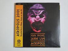 JEAN-MICHEL JARRE - Acropolis: Live in Athens, GR 2001 mini LP / 2x CD