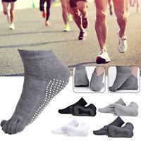 Lotto Mens anti-bolla Sports Compression Running Five Finger Toe Socks 5 colori