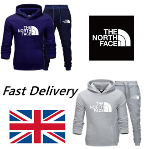 The North Face Men's Sweatershirt Pullover Set Hoodie Bottoms Jogging Tracksuits