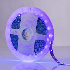 5M 2835 SMD UV Schwarzlicht LED Streifen Stripe Band Leiste Lichterkette IP20