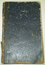 1852, Manuscript Diary Of Hugh Craig, Pennsylvania Legislature Session, Politics