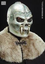 Skull Warrior Mask Helmet Halloween Demon Monster Fancy Dress