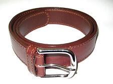 """Saddleback Leather 1.5 """" Damen Gürtel Größe S M Chestnut"""