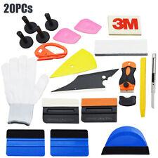 PRO Car Window Tint Wrap Vinyl Tool Kits Squeegee Scraper Razor Glove Applicator