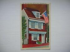 Philadelphia, USA.  Betsy Ross House, Arch Street.