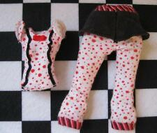 Monster High GHOULIA GHOULA YELPS DEAD TIRED Nude 1st Wave 1 clothes-PJs Pajamas