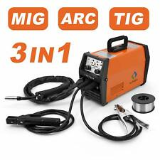 HITBOX MIG Welder 220V  LIFT TIG ARC Inverter Wire Gasless MIG  Welding Machine