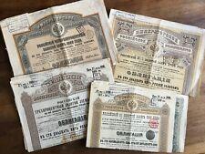 Emprunt Russe 5 obligations 1889 + 3 de 1891 + 1 de 1894 + 3 de 1896 + 2 de 1906