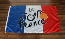 Le Tour de France Banner Flag French Bike Race Cycling Bicycle Store TDF Logo