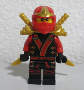 Kai Kimono 70500 Red Ninja Fire Weapon Ninjago LEGO®  Minifigure Mini Figure