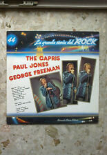 LA GRANDE STORIA DEL ROCK #44 - THE CAPRIS/PAUL JONES/GEORGE FREEMAN - LP 1982
