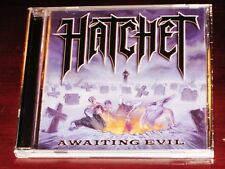 Hatchet: Awaiting Evil CD 2008 Metal Blade Records USA 3984-14671-2 Original NEW