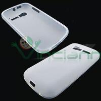 Custodia TPU Flexy bianca per Alcatel one touch pop C5 5036D cover case