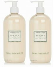 Lot of 2 New Crabtree & Evelyn Summer Hill Body Lotion 16.9 oz Pump Bottle