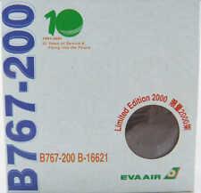 Boeing 767-200 EVA Air B-16621 Herpa 512848 1:500