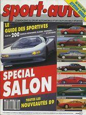 SPORT AUTO n°321 10/1988 SPECIAL SALON COUNTACH BMW M5 MERCEDES 190 2.5-16