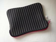 NWT J. CREW Neoprene Printed IPad  - Sleeve with Bright Pink Zipper
