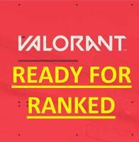 Valorant Account NA ⭐️ Ready for Ranked ✔️ Mail Full Access ✔️ 100% Warranty ✔️