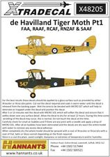 Xtradecal 48205 Decals 1/48 de Havilland DH.82a Tiger Moth Part.1 (4)