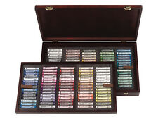 Rembrandt Artists Full Size Soft Pastels Wooden Box Set - 150 Assorted