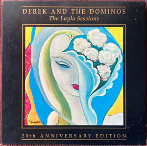 Derek & The Dominos  THE LAYLA SESSIONS 20th Anniversary 3CD Box Set - US Import