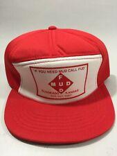 Mud Fud Eldorado Kansas Vintage Deadstock Snapback Farm Trucker Style Hat