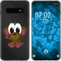 Silicone Case for Galaxy S10 Plus Silicone Case Cutiemals M3  Cover
