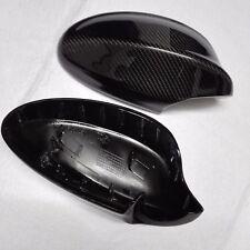 for BMW 3 Series E90 sedan 05-08 car mirror cover ABS+carbon fiber Replacement
