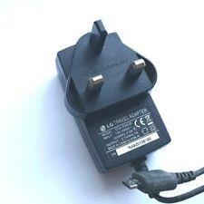 Genuine LG KU990 KG800 Viewty KP500 KE850 KM900 KS360 KE970 KC910 Mains CHARGER