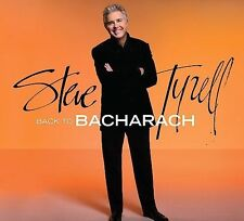 FREE US SHIP. on ANY 3+ CDs! ~Used,Very Good CD Steve Tyrell: Back To Bacharach