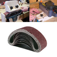 "12pc Sanding Belts 40 80 120 Grit Aluminum Oxide 3""x21""Belt Sander  Sanding Belt"