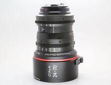 Cinematics cine lens Canon 24-70mm f2.8 EF for RED RAVEN BMCC BMPCC CANON 5D 6D