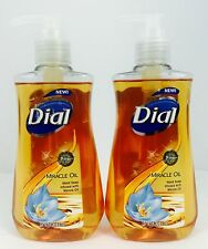 2X Bottles Dial Miracle Oil Liquid Hand Soap W/ Marula Oil 7.5oz DISCONTINUED