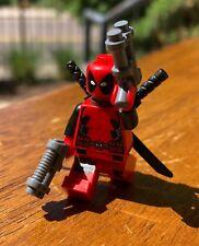 LEGO MARVEL SUPER HERO X-MEN DEADPOOL GENUINE MINIFIGURE ONLY FROM SET 6866