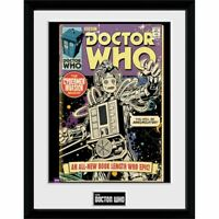 Doctor Who - Cybermen Comic Collector Print 40 x 30 cm