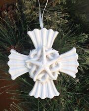 Margaret Furlong Porcelain Healing Cross Ornament Brand New Free Shipping