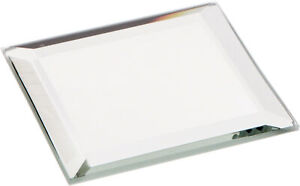 Plymor Square 3mm Beveled Glass Mirror, 2 inch x 2 inch (Pack of 24)