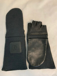Authentic Chanel Mittens / Fingerless Gloves 6 1/2
