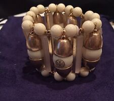 New with tags! Tory Burch Candelaria Stretch Bracelet - Retail $225