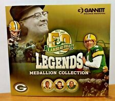 Green Bay Packers Legend Medallion Collection 1957-2007  complete